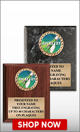 Rocketry Plaques