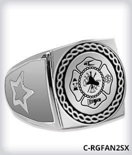 Custom Round Champion 2.0 Ring Top With Color