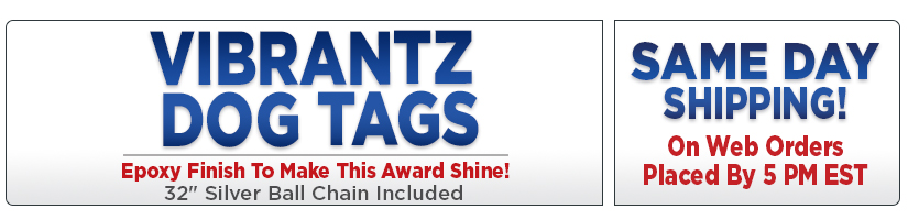 Vibrantz Dog Tags