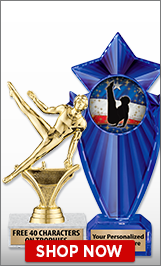 Male Gymnastics Trophies