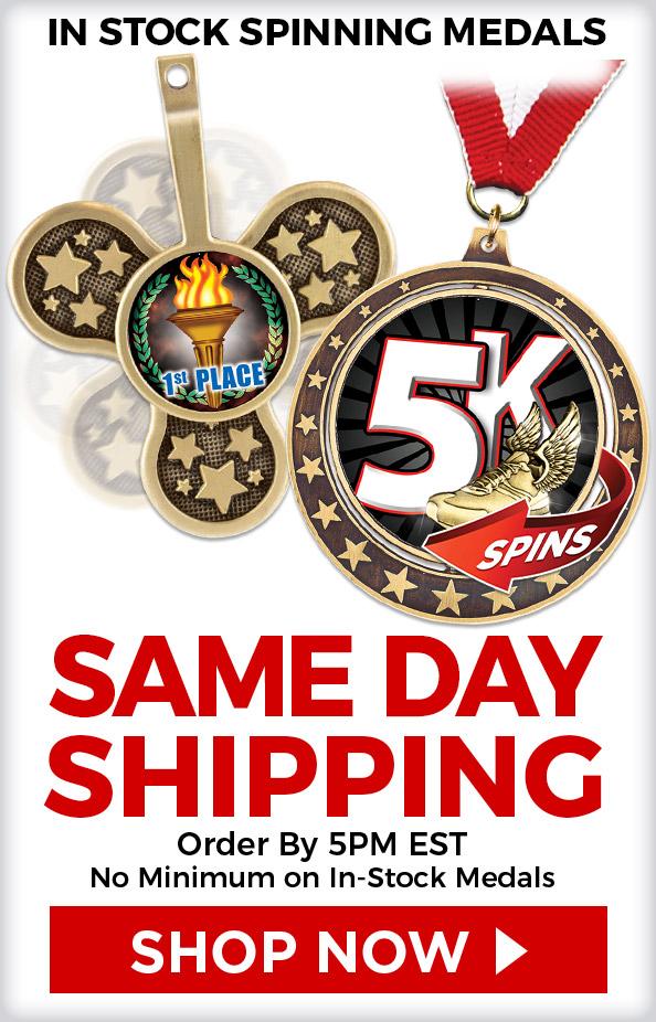 Custom Spin Medals | Custom Medals |