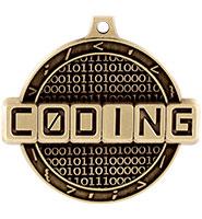 """2"""" Coding Medal"""