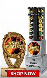 Drag Racing Sculptures