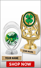 St. Patrick's Day Trophies