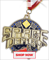 Space Derby® Medals