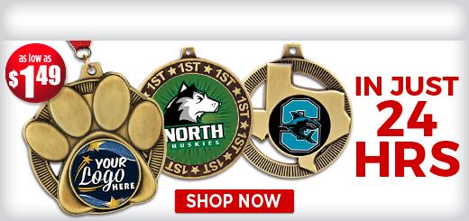 Insert Mascot Medals