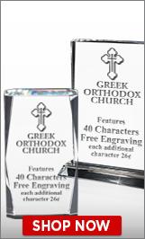 Greek Orthodox Church Crystal