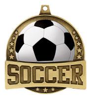 "2 1/4"" FX Soccer Medals"