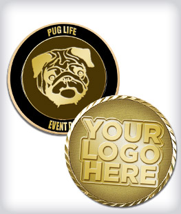 Custom Dog Coins