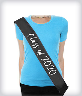 Custom Graduation Sashes