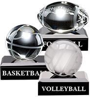 Mini Crystal Sport Pedestals