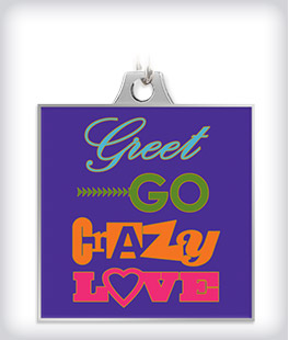 Custom Key Chain with Full Color