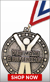 You Make A Difference Medals