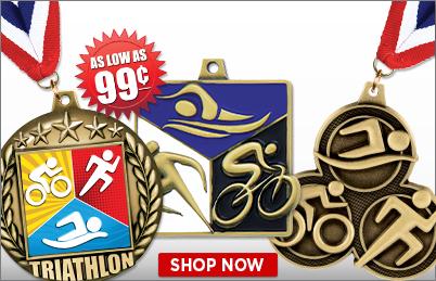 Triathlon Medals