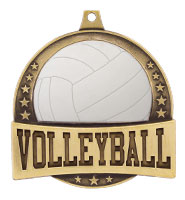 "2 1/4"" FX Volleyball Medals"