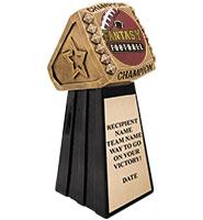 Champion Ring Fantasy Football Sculpture