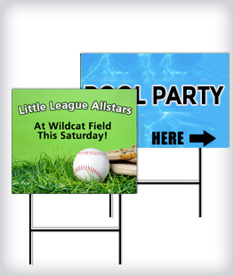 Custom Lawn And Sport Signs