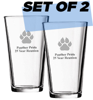 Set Of 2 Beer Tumblers