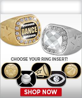 Championship Crystal Rings