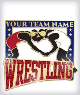 Custom Specialty Wrestling Pins