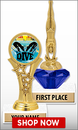 Diving Trophies