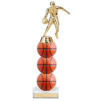 "11"" Xtreme Basketball Trophy"