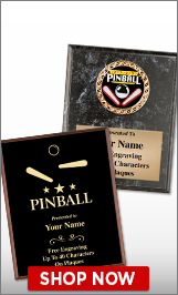 Pinball Plaques