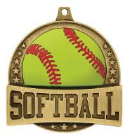 """2 1/4"""" FX Softball Medals"""
