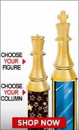 Chess Column Trophy