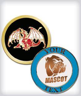 Custom Semi Cloisonne Mascot Pins