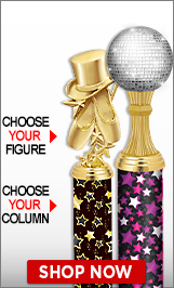 Jazz Column Trophies