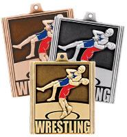 """2 1/4"""" Wrestling Stepz Medals"""