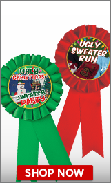 Ugly Sweater Ribbons