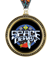 Legend Space Derby™ Insert Medals