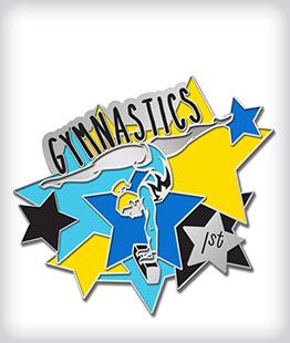 Custom Soft Enamel Gymnastics Pins
