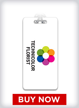 Custom ID Bag Tag With Your Corporate Logo
