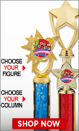 Scrabble Column Trophies