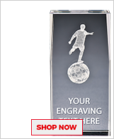 AYSO Crystal Trophies