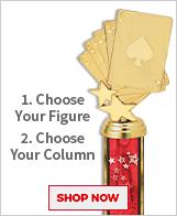 Casino Column Trophies