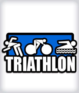 Custom Rubber Triathlon Pins