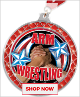 Arm Wrestling Medals