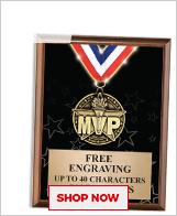 MVP Plaques