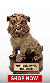 Mascots Bulldog Sculpture