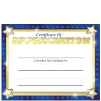 Gold foil certificates appreciation foil certificate yadclub Image collections