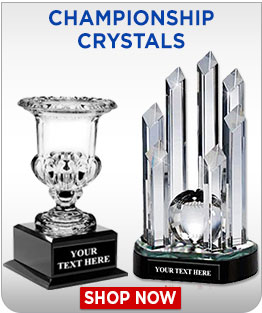 Crystal Championship Trophies