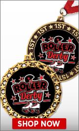 Roller Derby Medals