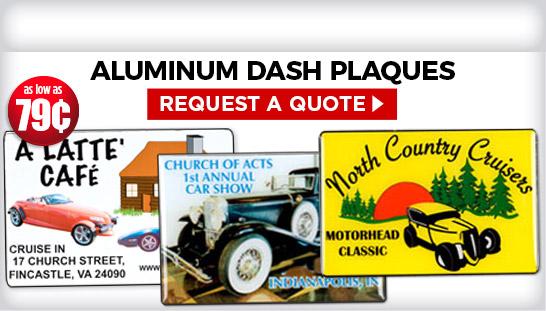 Custom Dash Plaques Plaque Awards Engraved Plaques - Car show dash plaque display