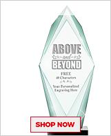 Above & Beyond Crystal Awards