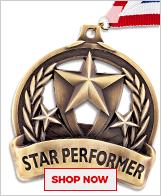 Star Performer Medals