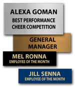 Perpetual Trophy Plates